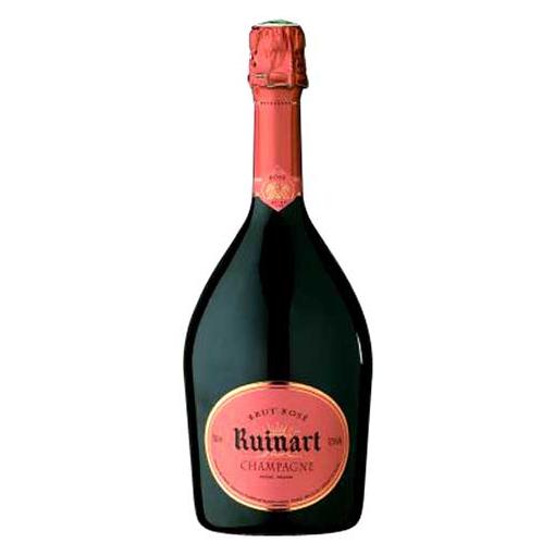 Шампанское розовое брют, объем 0,75 л.