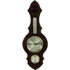 Настенные часы с домашней метеостанцией