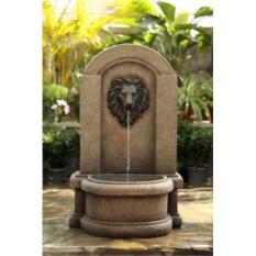 Декоративный фонтан Лев