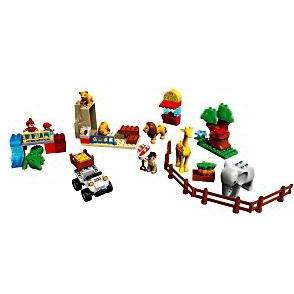 Конструктор Lego Duplo «Кормление в зоопарке»