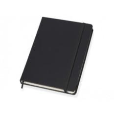 Черный блокнот в линейку формата А5
