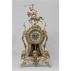 Каминные часы с маятником Всадник