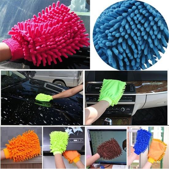 Перчатка для уборки из микрофибры