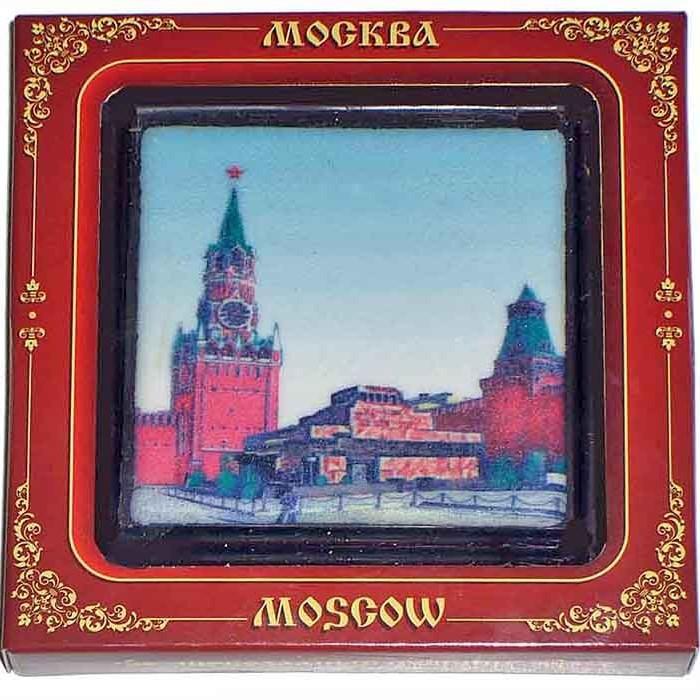 Шоколадный сувенир малый «Москва. Красная площадь»