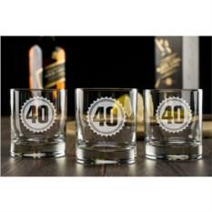 Набор бокалов для виски Праздничный
