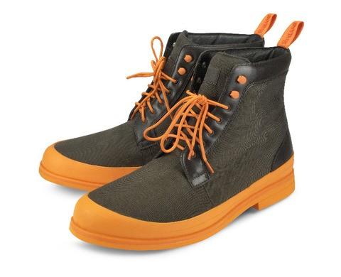 Ботинки Swims Harry Boot, коричневые с оранжевой подошвой