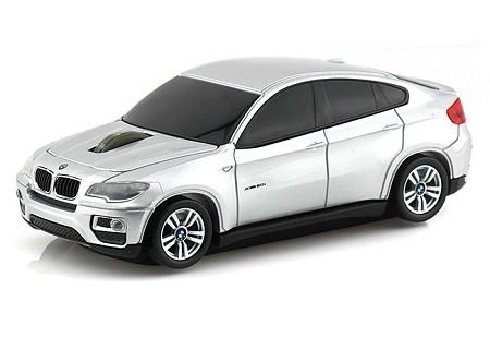Компьютерная мышь в виде Landmice BMW X6 Silver