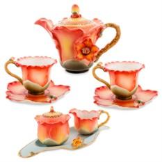Подарочный чайный набор «Солнечные цветы»