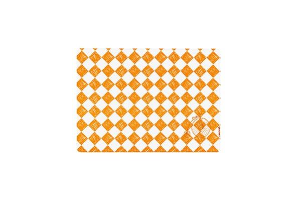 Оранжевая подложка Iris
