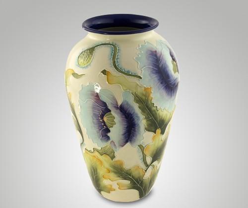 Керамическая ваза (цветы), 30 см