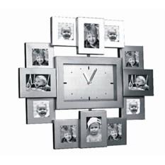 Часы-фоторамка Семейный калейдоскоп