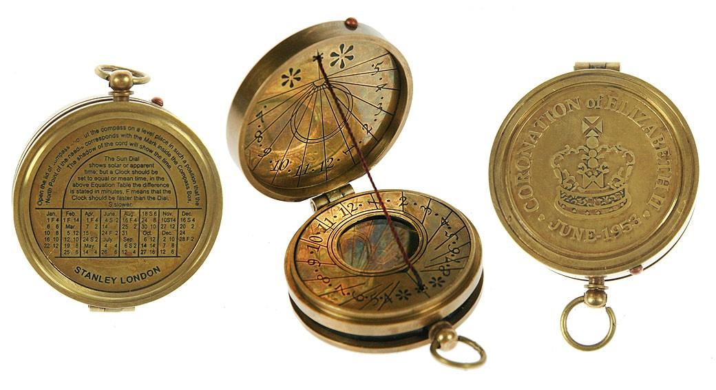 Сувенир Солнечные часы, компас