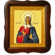 Таисия Египетская  Святая блаженная. Икона на холсте.