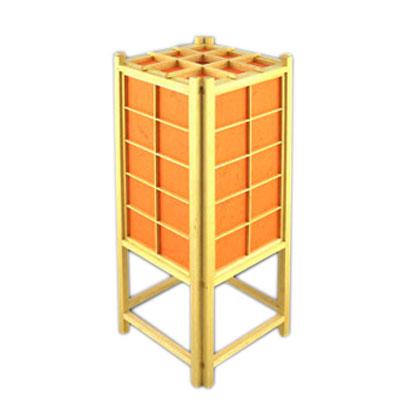 Лампа японская настольная