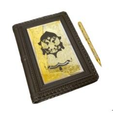 Набор Ежедневник украшенная ручка