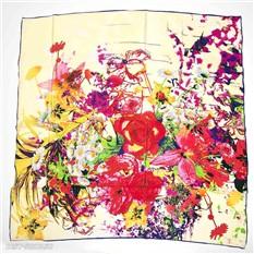 Платок с цветами