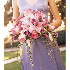 Свадебный букет «Розовый Фьюжн»