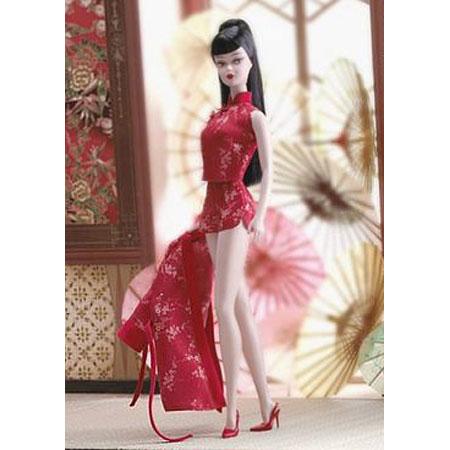 Барби коллекционная силк стоун