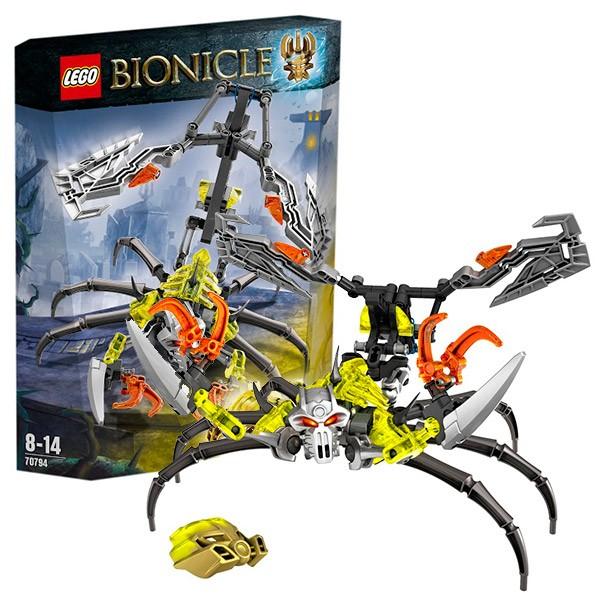 Конструктор Lego Bionicle Череп-Скорпион