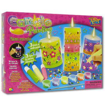 Набор для раскрашивания свечей