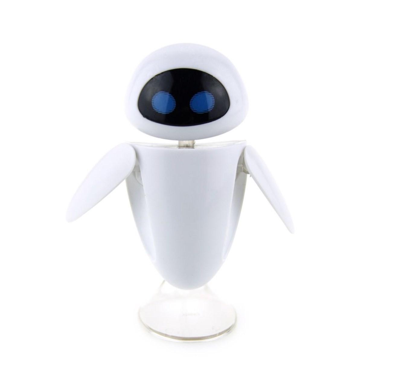 Игрушка робот Ева из мультфильма с подставкой