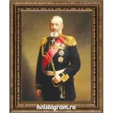 Печать портрета по фото на холсте Эконом