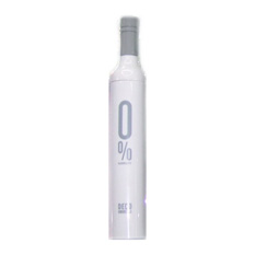 Белый зонт в бутылке
