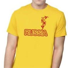 Футболка с надписью RUSSIA