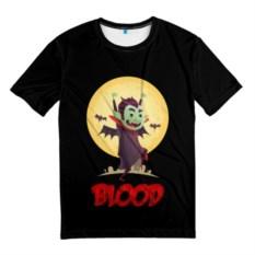 Мужская 3D футболка Дракула