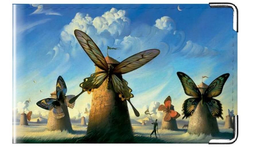 Визитница Бабочки Дали