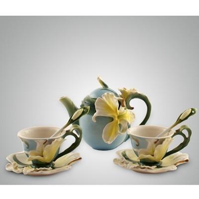 Чайный набор на 2 персоны Лилии