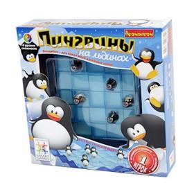 Логическая игра для детей bondibon Пингвины на льдинах