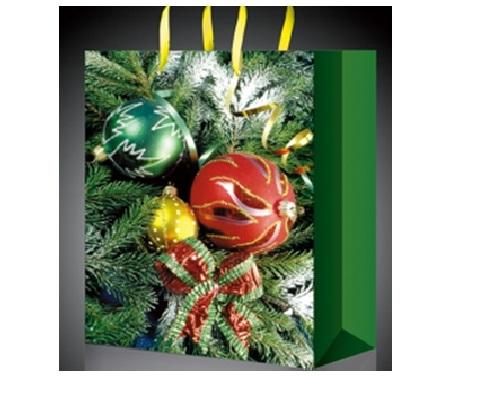 Подарочный новогодний пакет Ёлка