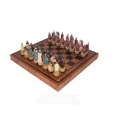 Шахматная доска и шахматные фигуры «Куликовская битва»
