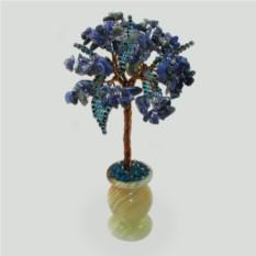 Миниатюрное дерево из лазурита Богиня ночи