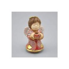 Керамическая статуэтка Ангелок с сердечком