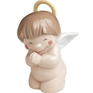 Фарфоровая статуэтка Святой ангелочек