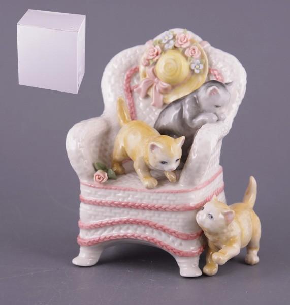 Статуэтка Игра котят