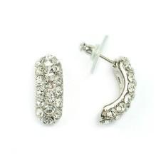 Серьги с кристаллами Swarovski Натали