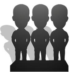 Статуэтки по фото – 3 человека