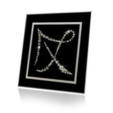 Картина с кристаллами Swarovski Стрелец C-017st