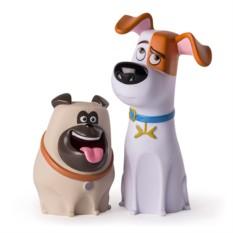 Фигурки Макса и Мела из м/ф Тайная жизнь домашних животных
