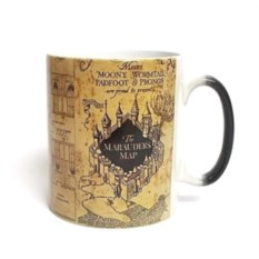 Кружка с картой мародеров из Гарри Поттера