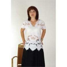 Белая блуза Алианор