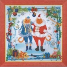Набор для вышивания Новогодний огонек