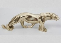 Бронзовая статуэтка Золотая пантера