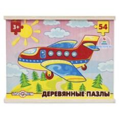 Деревянный сборный пазл «Самолетик»