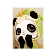 Картина по номерам «Маленькая панда»