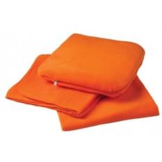 Оранжевый плед Travel