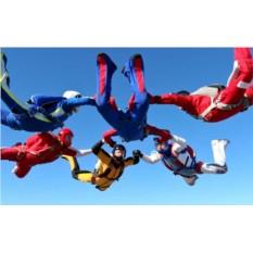 Сертификат на прыжок с парашютом для компании